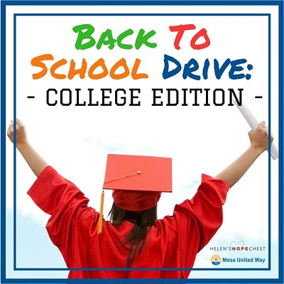 Back To School Drive: College Edition